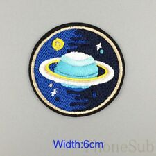 2X Embroidery Iron Sew On Patch Badge Fabric Bag Clothes Craft DIY Applique