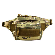 Utility Tactical Waist Fanny Pack Molle Military Camping Hiking Outdoor Belt Bag