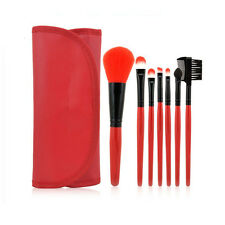HappyMakeup New 7pcs  Makeup Brush Set Cosmetic Pencil Brushes with Case
