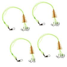 4x Carp Fishing Hooks High Carbon Steel Explosion Hook Tackle 8 Sizes