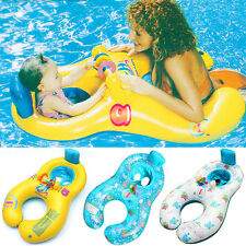 Baby Kids Inflatable Swim Ring Pool Float Seat Boat Toddler Water Seat Funny New