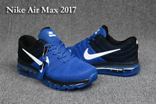 NWT NIKE AIR MAX 2017 MEN'S Running Shoes Sneakers Treasure blue black Athletic