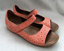 NEW CLARKS ACTIVE AIR HOPE BEAM WOMENS CORAL LEATHER SANDALS SHOES SIZE 5.5 / 39