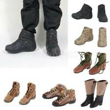 1/6 12'' Soldier Action Figrue Shoes Army Combat Boots ACCS for BBI DID Hot Toys