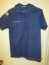 BSA/Boy, Cub Scout Navy Blue Shirt, Short Sleeve Youth/Boys - 6