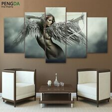 Fantasy Angel Warrior Wing Modern Paintings Canvas Picture Wall Art Home Decor