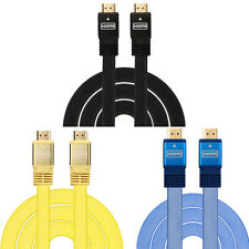Universal HDMI Cable 1.5M For PS3 DVD HDTV XBOX LCD HD TV 1080P Flat Cable