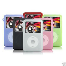 Silicone Skin Cover Case for iPod Classic 80GB 120GB 160GB Video 30GB Color