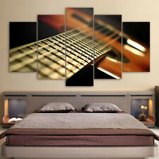Guitar Musical Modern Wall Modern Painting Abstract Art Poster Canvas Home Decor