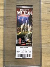 2017 San Diego State Aztecs Football Official Mint Ticket Stub - pick any game!