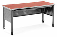 Office School Hospital Mesa Series Mobile Training Table / Desk with Drawers