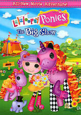 Lalaloopsy: Ponies The Big Show [DVD] Movie, Factory Sealed with Slip Cover