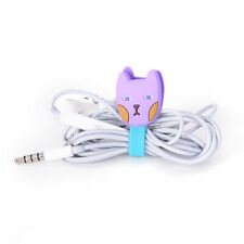 1pcs Cable Winder Clip Headphone Earphone Winder Cable Cord Wrap Organizer AB