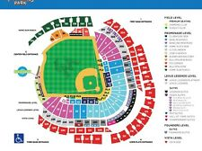 Miami Marlins vs. San Diego Padres @ Marlins Park. 08/26/17 Sec.31 $30=2 Tickets