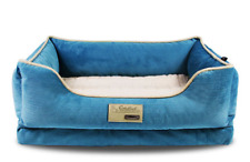 Deluxe Soft Washable Dog Puppy Cat Kitten Pet Warm Basket Bed Cushion Plush & Co