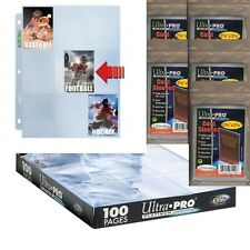 50 x 9-Pocket Platinum Side Load Pages + 500 Soft Sleeves(Ultra.Pro or LaTCG)