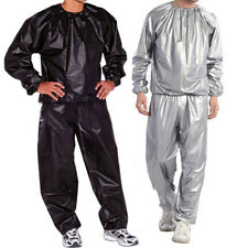 L-5XL Sauna Suit Sweat Weight Loss Exercise Fitness Gym Slimming Training