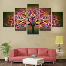 Scenery Beautiful Wood Poster Painting Abstract Frame Canvas Wall Art Home Decor
