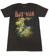 "Batman ""First Issue Comic Cover"" T-shirt Official Adult Mens Black New S,M,L,XL"