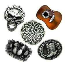 Halloween Country Guitar Boots Belt Buckle Western Cowboy Cowgirl Rock Rodeo
