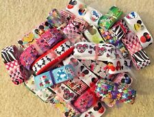 "MINNIE & MICKEY MOUSE 7/8"" Grosgrain Ribbon --  INVENTORY CLOSEOUT  -- Lot -Bulk"