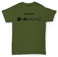 HIP HOP EVOLUTION T SHIRT RAP VINYL RETRO OLD SCHOOL MP