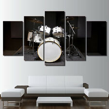 Drum Music Instrument Painting Modern Poster Prints Canvas Wall Art Home Decor