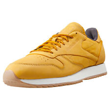 Reebok Classic Leather Ripple Wp Mens Trainers Gold New Shoes