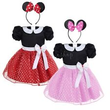 Baby Girls Princess Minnie Mouse Tutu Dress Halloween Outfits Clothes Costume