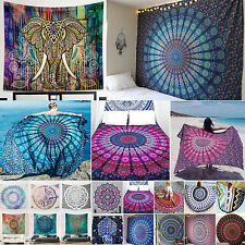 Indian Bohemian Mandala Beach Tapestries Hippie Throw Yoga Mat Towel Bedspread