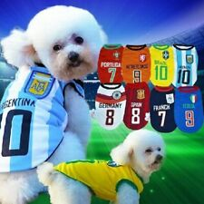 Soccer FIFA World Cup Shirt for Pet Dogs - Football Club Shirts - Team Apparal