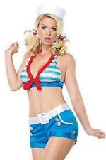 "Leg Avenue Costume ""Sexy Sailor Pin Up"" Adult Women's Party Halloween New ""B"""
