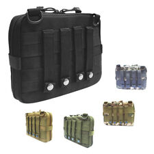 Large Molle Tactical Survival Tool EDC Utility Accessory Vest Magazine Pouch