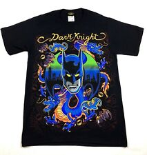 "Batman ""Dark Knight"" Jumbo Print T-shirt Official Adult Mens Black New S,M,L,XL"