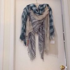 Eileen Fisher NWT Scarves/Wraps, Choice of Colors, Handmade Italy, & Ethiopia
