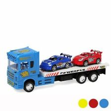 Toy Truck Lorry Car Transporter with 2 Cars 1.32 scale Childrens Kids