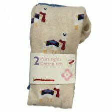 John Lewis 2 Pairs of Girls Tights, Various Ages, RRP £9.00