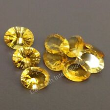 CITRINE 5x7 MM TO 13X18 MM OVAL SHAPE CONCAVE CUT WHOLESALE LOT LOOSE GEMSTONE