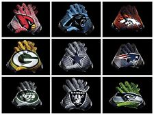 Full NFL Football Team Banner Flag Logo Glove Style 3x5 ft Fan Flag High Quality