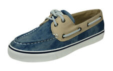 Sperry Bahama 2 Eye Denim Womens Deck / Boat Shoes - Blue