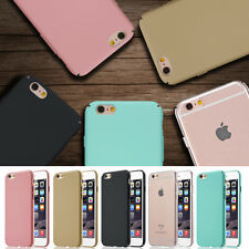 Luxury Ultra-thin Hard Back Case Skin Cover For Apple iPhone 8 8 Plus 7 6s 5s SE