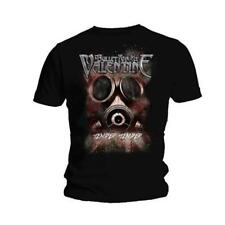 OFFICIAL LICENSED - BULLET FOR MY VALENTINE - TEMPER GAS MASK T SHIRT METAL BFMV