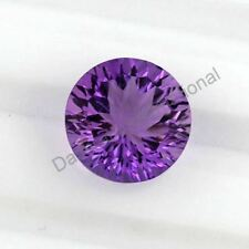 NATURAL AMETHYST CONCAVE CUT ROUND SHAPE 6 MM TO 14 MM SIZE LOOSE GEMSTONE