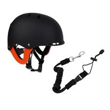 Kayak Boat Paddle Fishing Rod Leash + Waterskiing Surf Safety Helmet-CE Approved