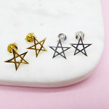 NEW Pentacle Star Earrings (Various Colours) Women's by Correy & Lyon