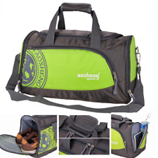 Gym Bag Sport Travel with Pocket Shoe Waterproof Work out All Purpose Duffle NEW