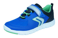 Geox J Xunday B B Boys Sneakers / Casual Sports Shoes - Blue and Black