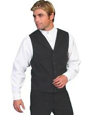 Wahmaker by Scully Brushed Cotton Vest - 524044 BLK