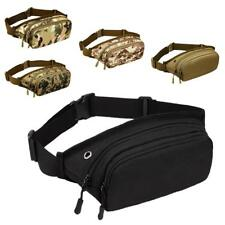 Utility Tactical Fanny Waist Pack Bag Belt Pouch for Camping Hiking Outdoor