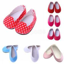 Dolls Slip-on Pumps Shoes for 14'' American Girl Wellie Wishers Doll Accessories